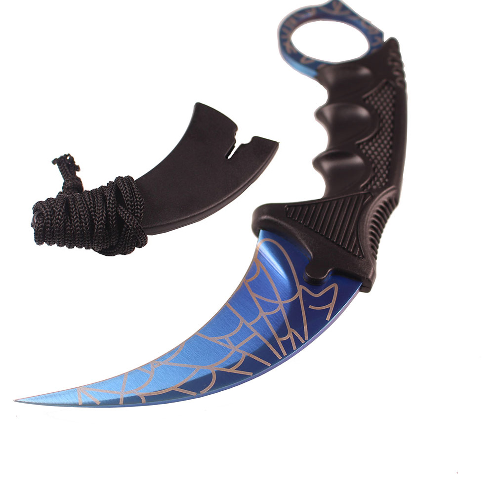 CS GO Fixed Blade Knife Mini Claw Never Fade Counter Strike Karambit Knife Tool
