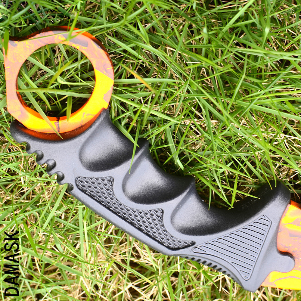 CSGO Counter Strike Karambit Orange Scenery Colorful Outdoor Knives