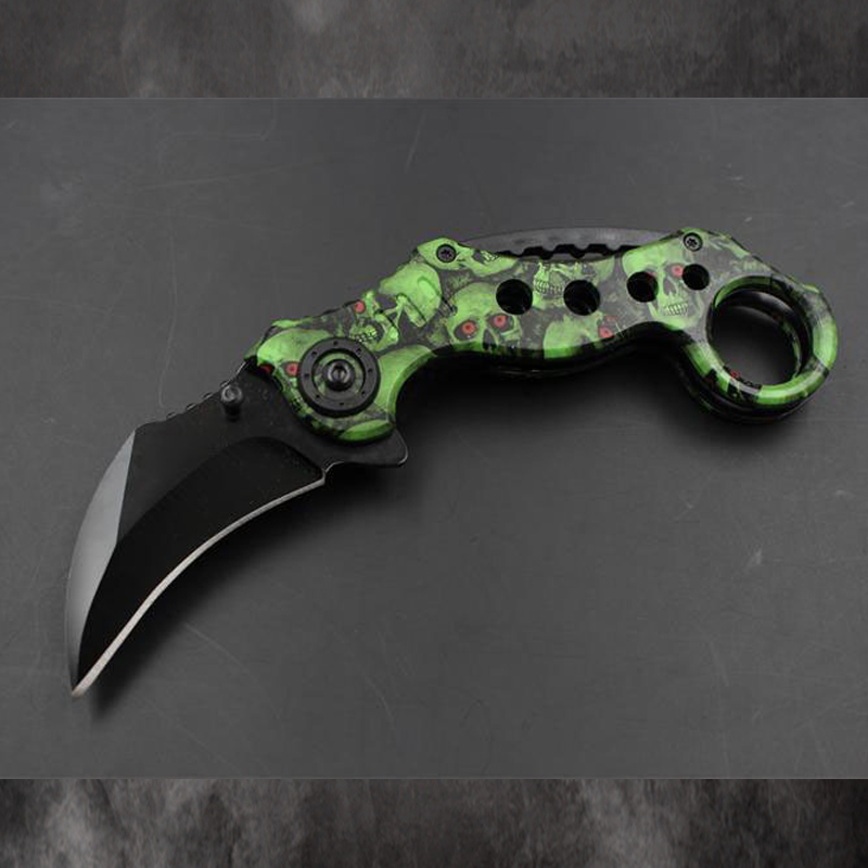 Outdoor Csgo Camping Knife Hunting Fighting Blade Karambit