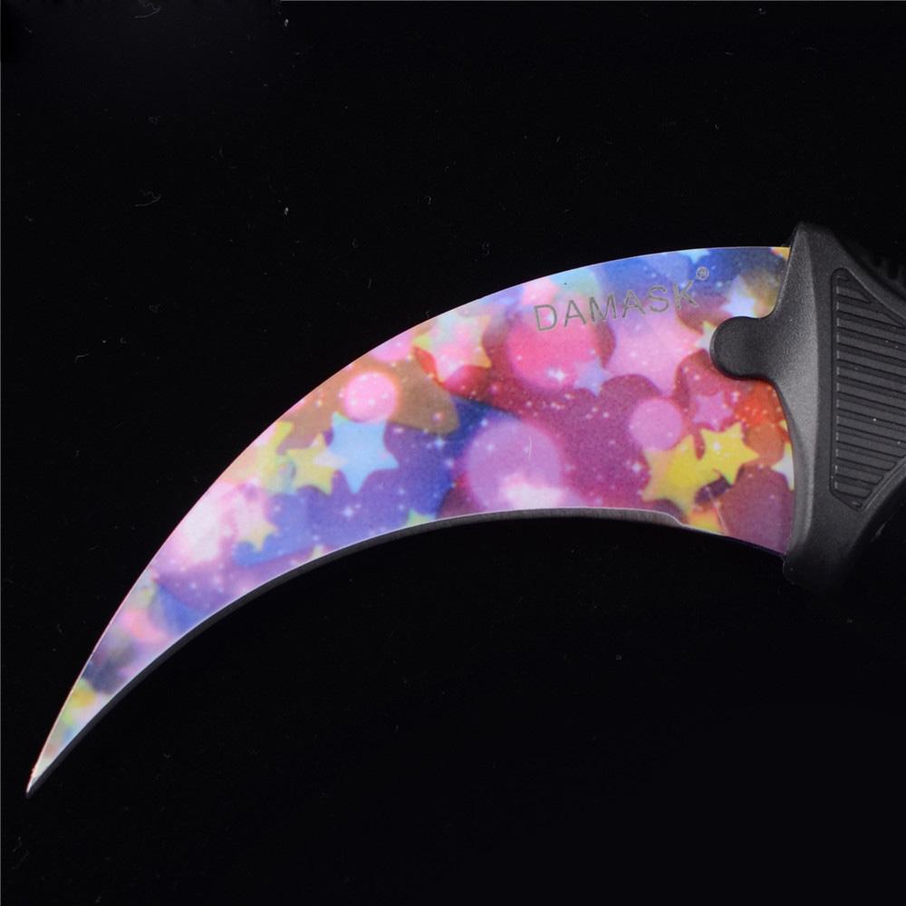 Karambit Counter Strike Outdoor Survial Portable Sharp Knife CSGO