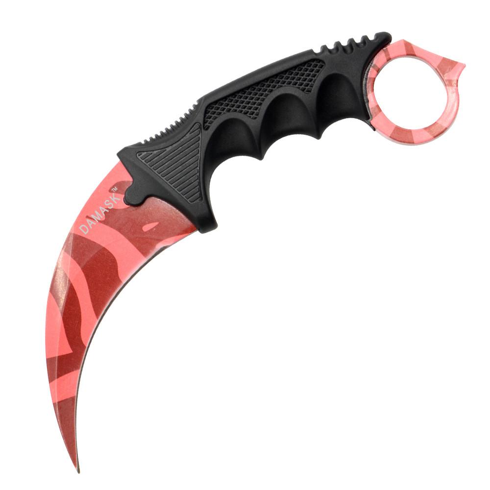Pink Pattern CSGO Knife Counter Strike Collectible Karambit Outdoor