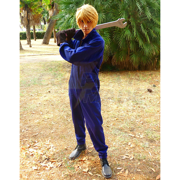 Baccano Russo family Graham Specter Kostume Cosplay Fastelavn