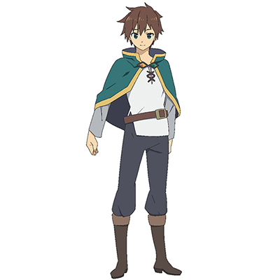 KonoSuba Kazuma Sato Costume Cosplay Collection