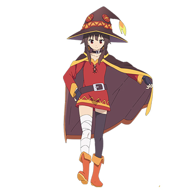 KonoSuba Megumin Costume Cosplay Collection