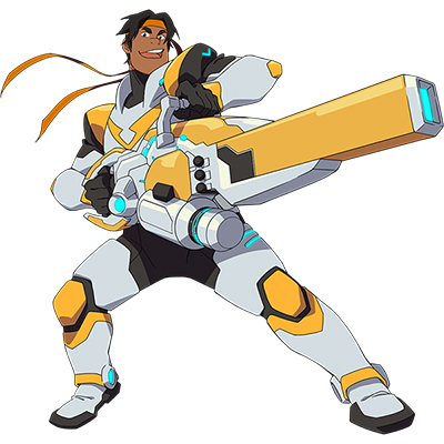 Voltron Hunk Costume Cosplay Collection