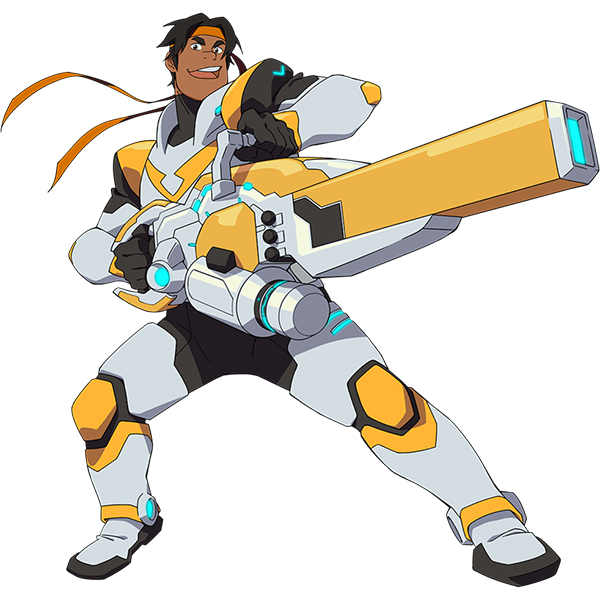 Voltron Hunk Kostume Cosplay Fastelavn