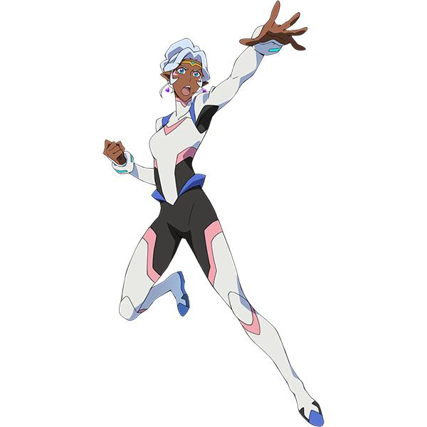 Voltron Princess Allura Kostume Cosplay Fastelavn