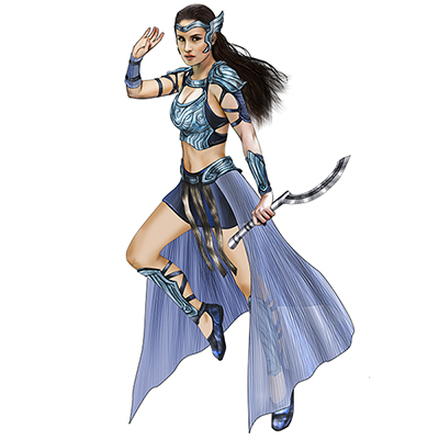 Encantadia Amihan Costume Cosplay Collection