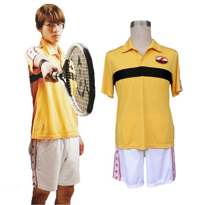 Fantasias The Prince of Tennis Rikkaidai Junior Colegial Uniforme de Verão Vestidos