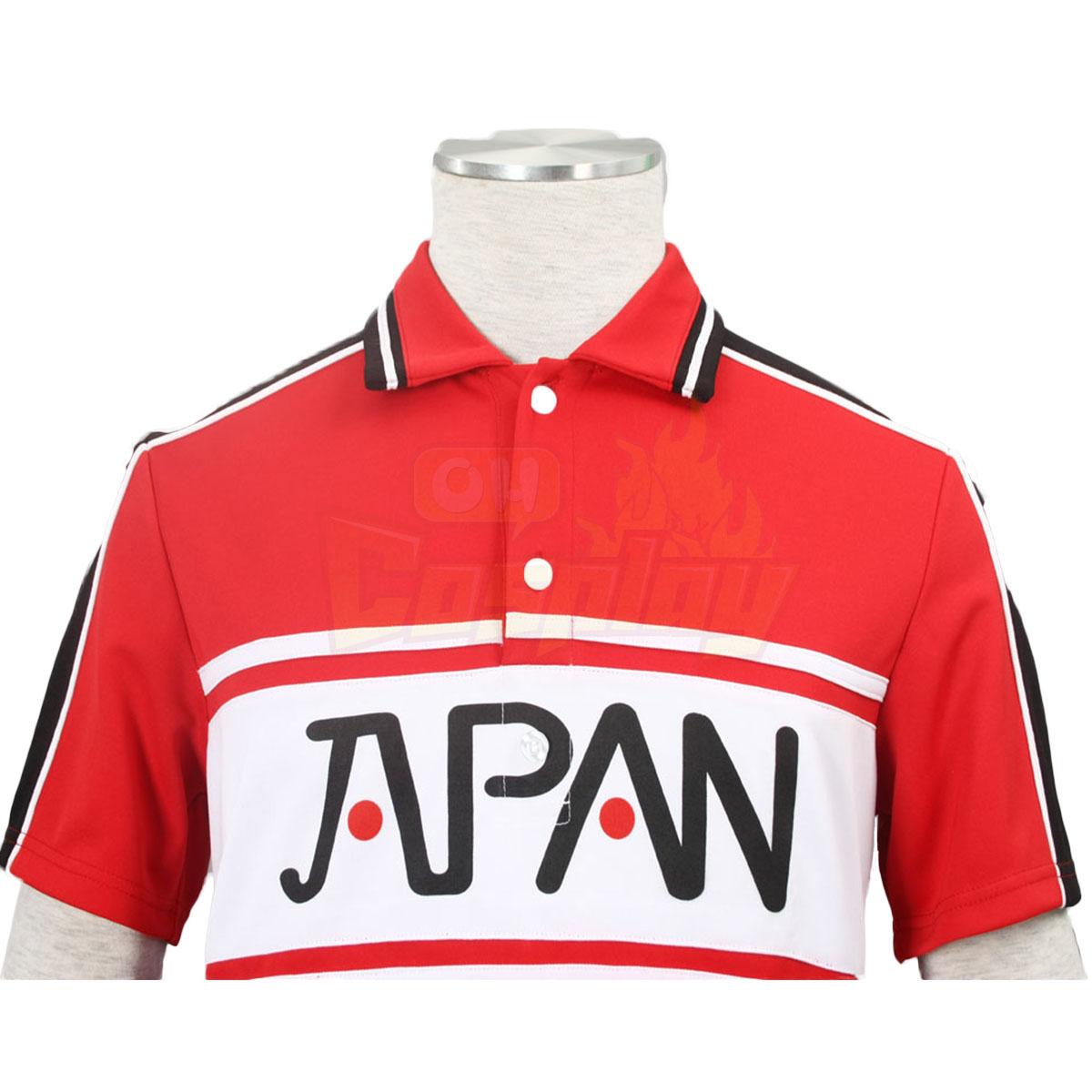 דלקס ניו נסיך הטניס יפני טניס צוות הקיץ אחיד 1 שמלות