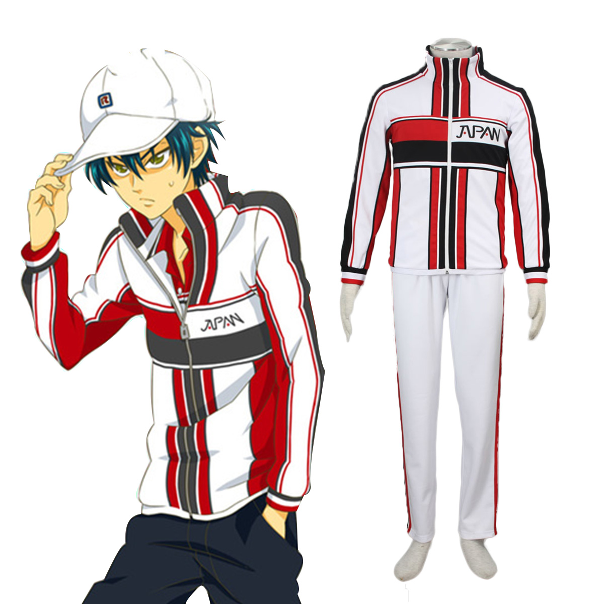 Deluxe The New Prince of Tennis Japanese Tennis Team Winter Uniform 1ST Dresses