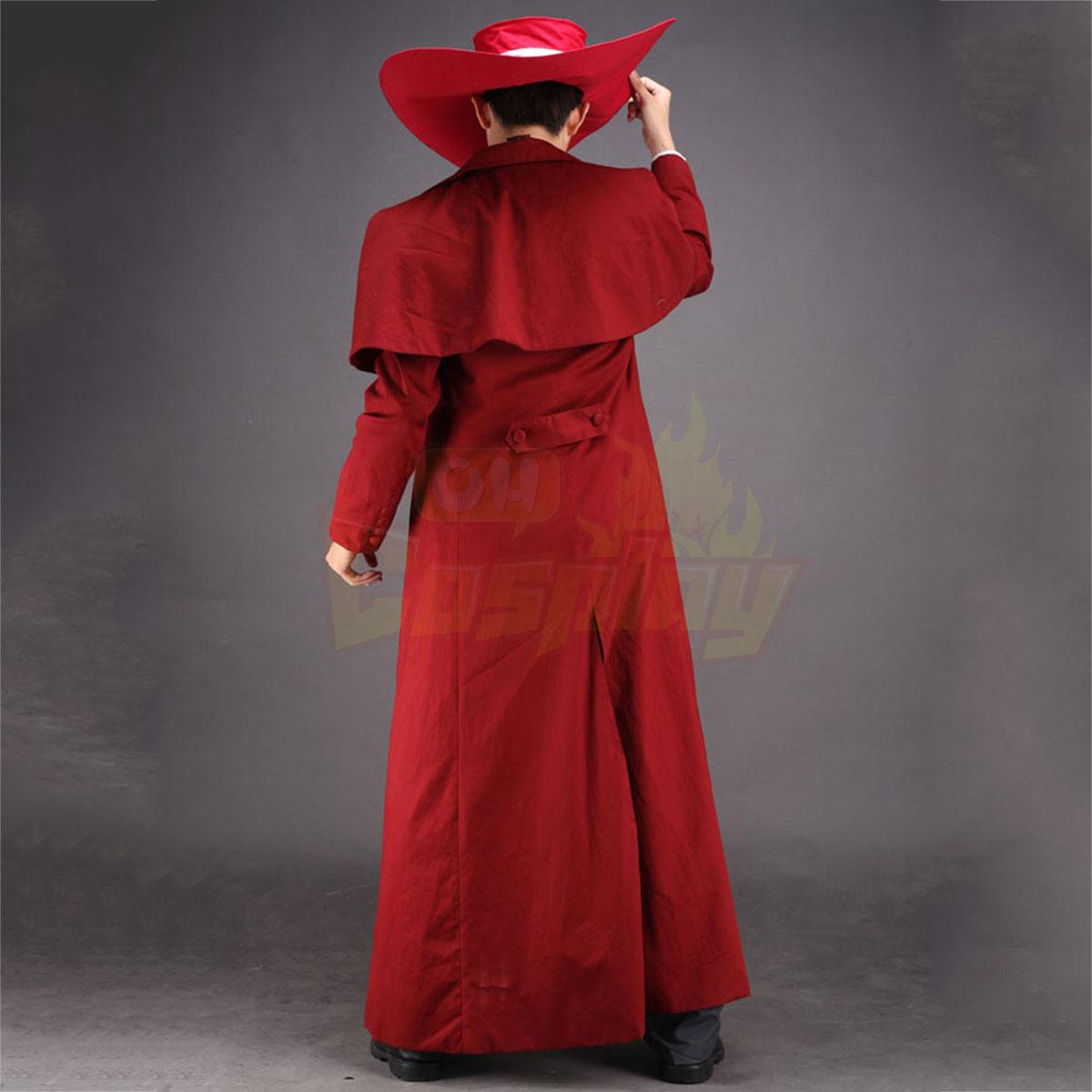 ديلوكس هلسينغ الرئيسية Alucard 1 الأحمر كوزبلاي ازياء