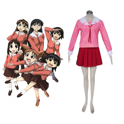 Deluxe Azumanga Daioh Mihama Chiyo 1ST Winter Sailor Cosplay Costumes