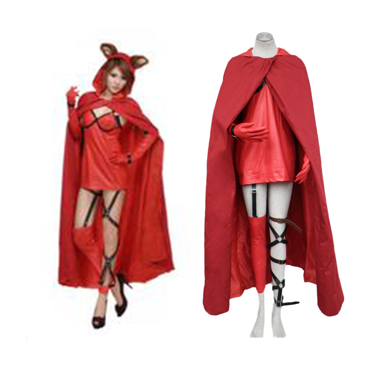 red riding hood cloak how to make