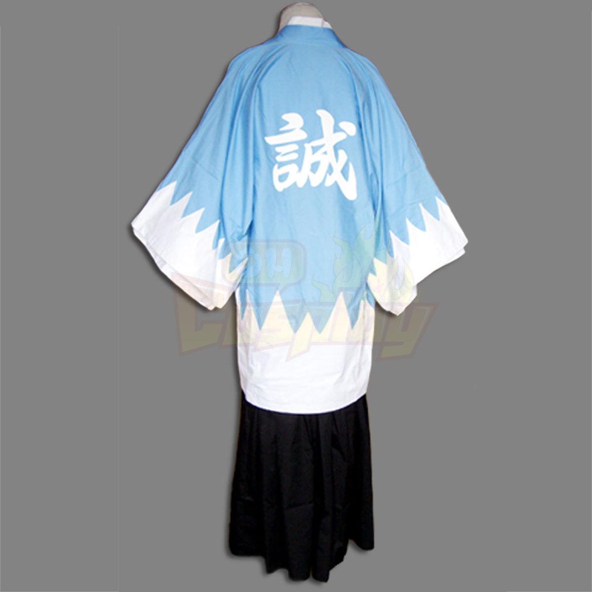 Peacemaker דלוקס Kurogane Okita Souji קוספליי הסייף כחול קוספליי