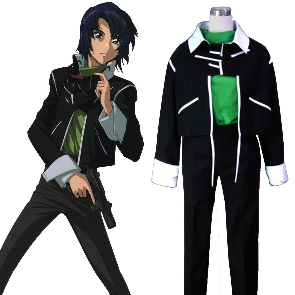 Луксозен Gundam Seed ARUN ZALA1 Cosplay Костюми