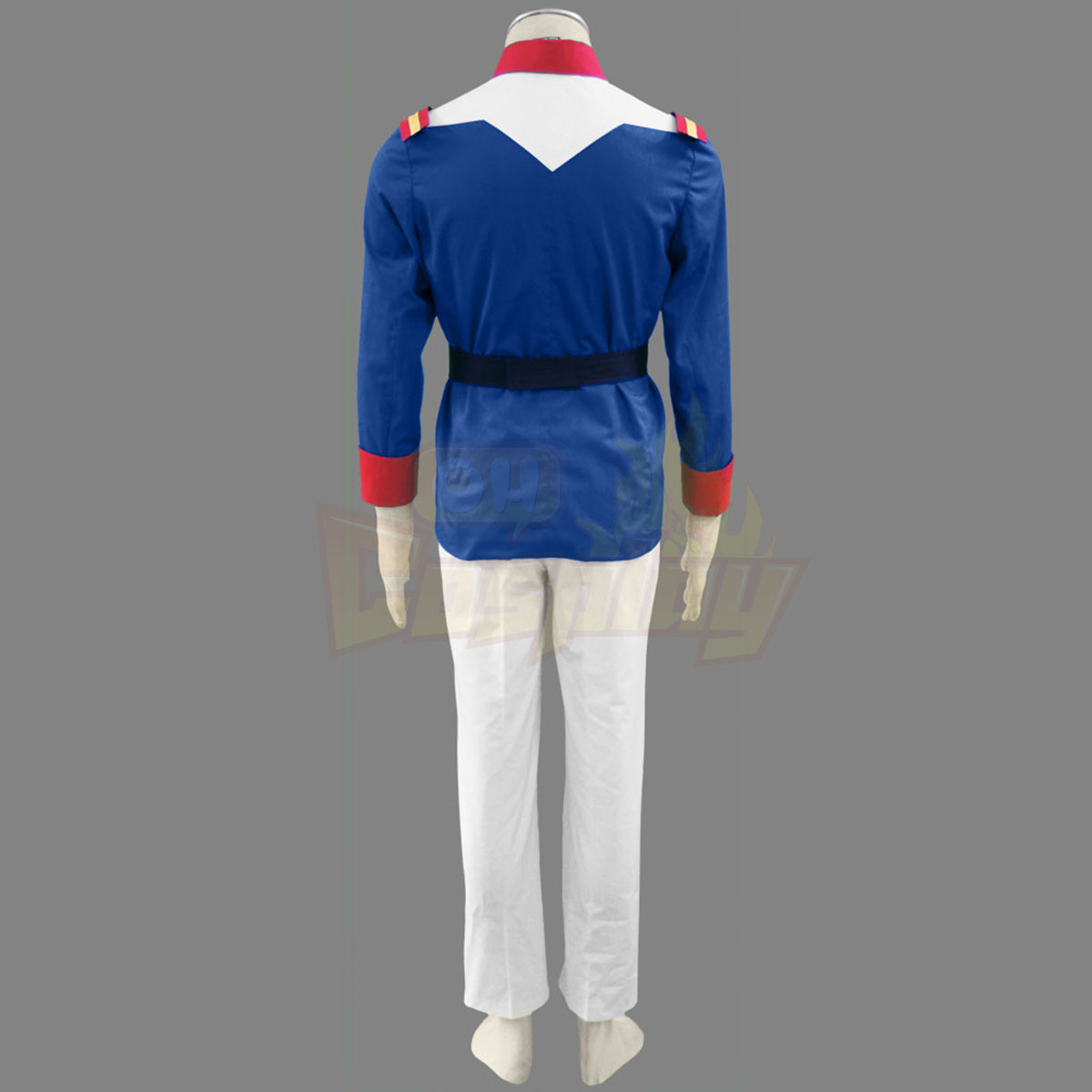 Луксозен Gundam 0079 EFF Trainee Soldiers Men Military униформа Cosplay Костюми