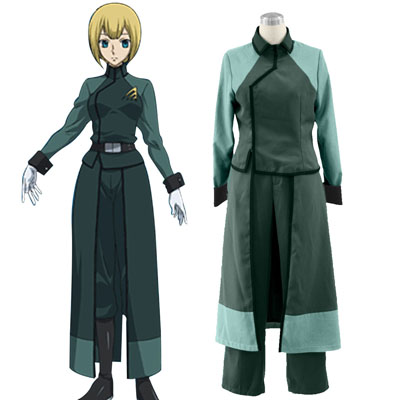 De lujo Disfraces de Gundam 00-A-LAWS Mujer Military Uniform Cosplay