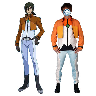 Gundam 00 Alleulujah Haptism Celestial Being Cosplay Costumes UK