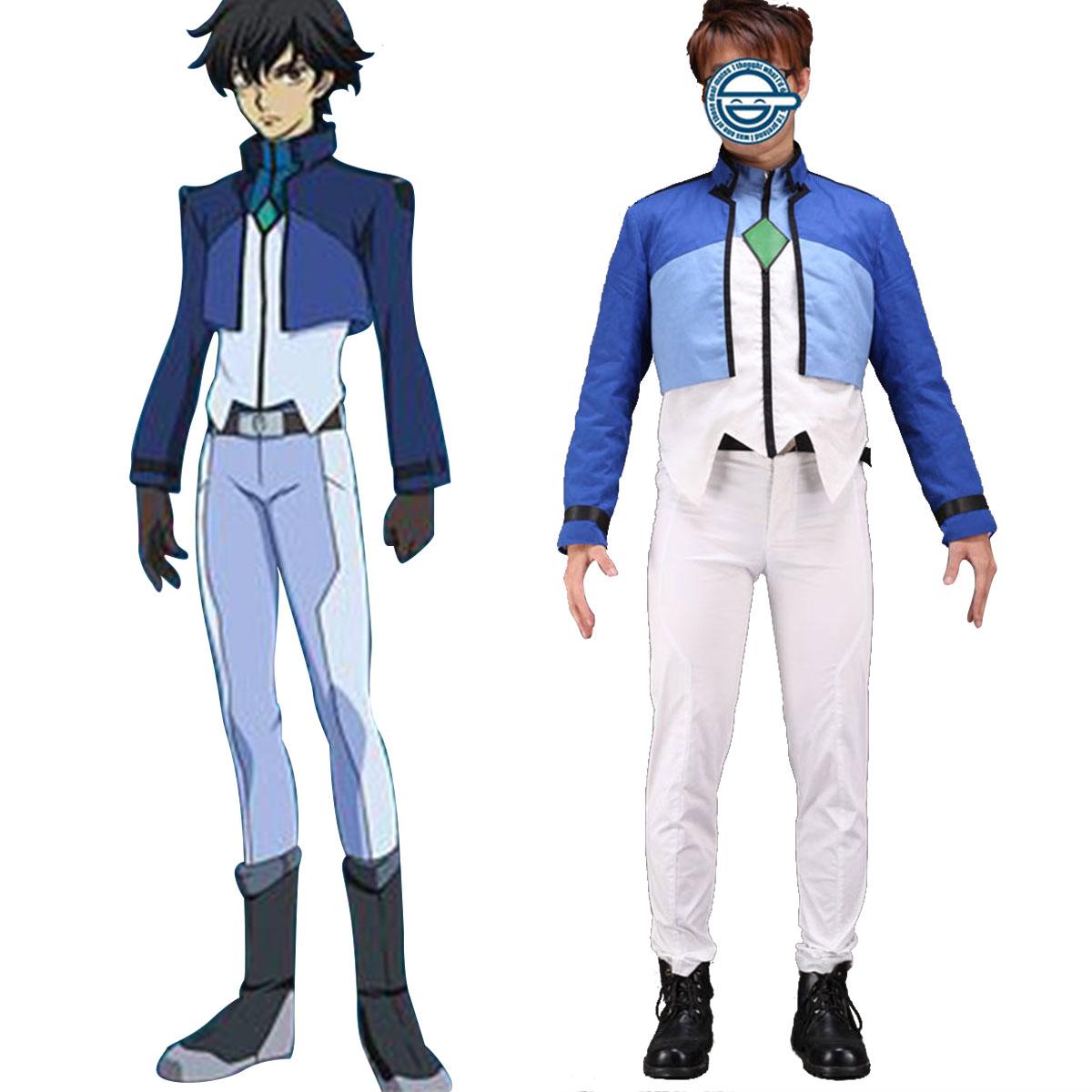 Luksuzno Gundam 00 Setsuna F Seiei Celestial Being Cosplay Kostumi