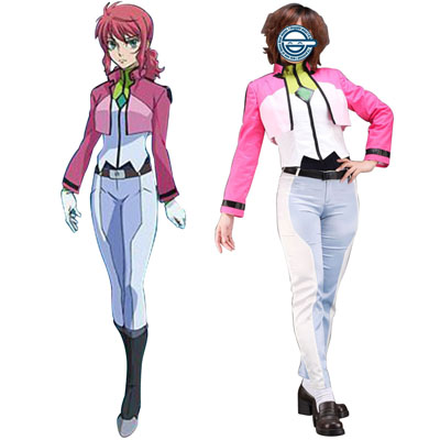 Ylellinen Gundam 00 Feldt Grace Celestial Being Cosplay Asut