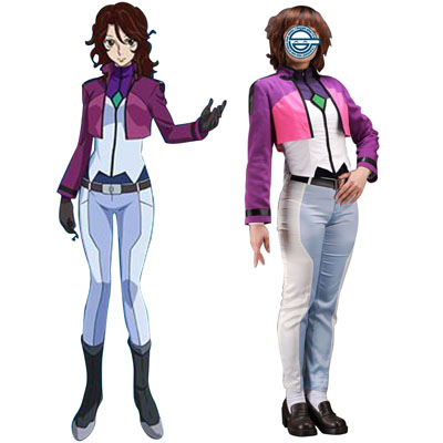 Луксозен Gundam 00 Sumeragi Lee Noriega Celestial Being Cosplay Костюми