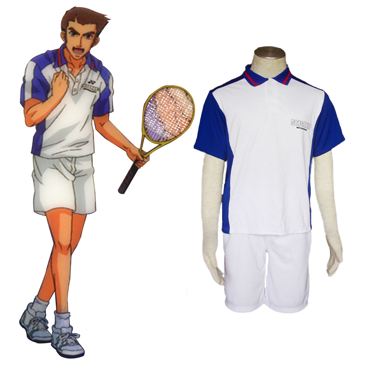 The Prince Of Tennis 96: De Lujo Disfraces De The Prince Of Tennis Youth Academy