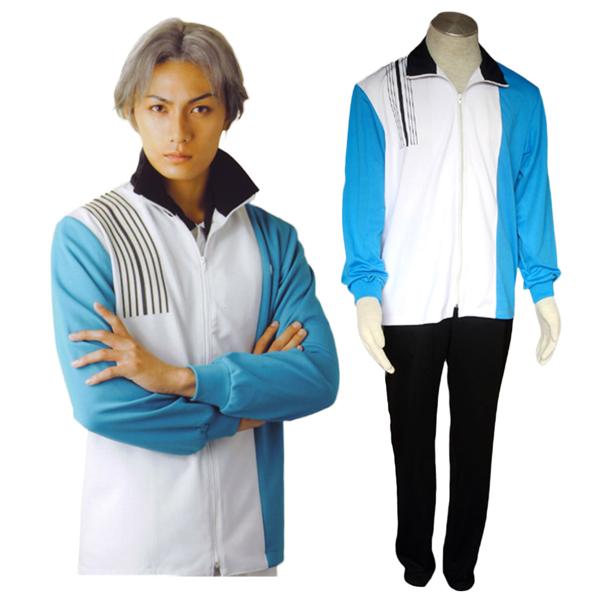 Fantasias The Prince of Tennis Hyotel Gakuen Uniforme de Invernos Trajes Cosplay