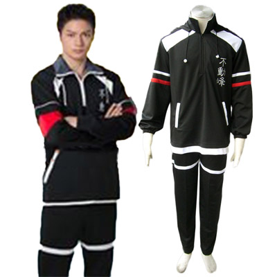 Luxe Déguisement The Prince of Tennis Fudomine Uniformes D'hiver Costume Carnaval Cosplay