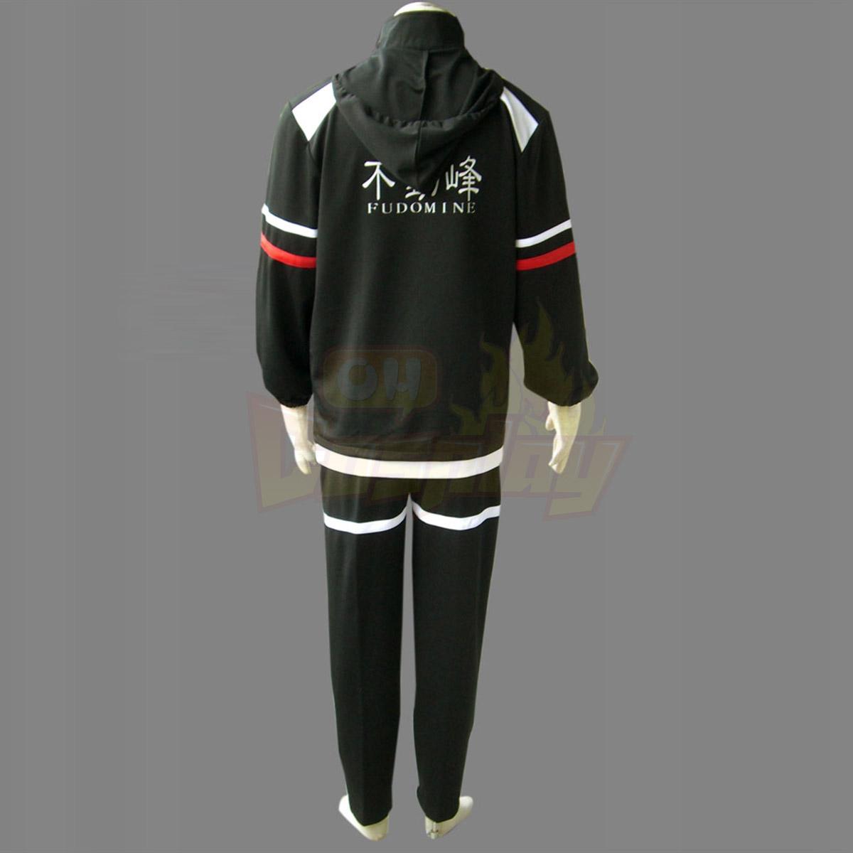 Луксозен The Prince of Tennis Fudomine зима униформаs Cosplay Костюми