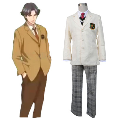 De lujo Disfraces de The Prince of Tennis Hyotel Gakuen School Uniforms for Men Cosplay