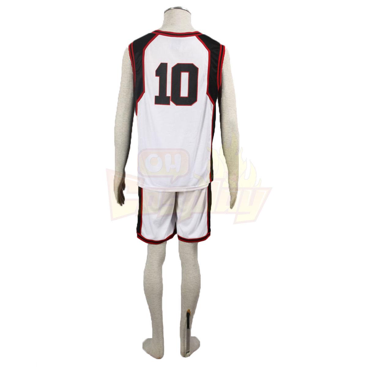Роскошный Баскетбол Куроко Тайга Кагами 1 Seirin Белый No.10 Косплей Cos Костюмы