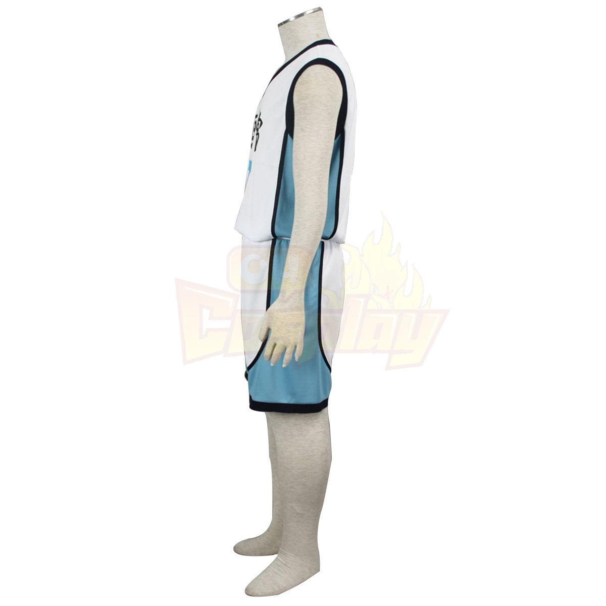 Fantasias Kuroko\'s Basketball Kise Ryota 3 Kaijou High Branco No.7 Trajes Cosplay