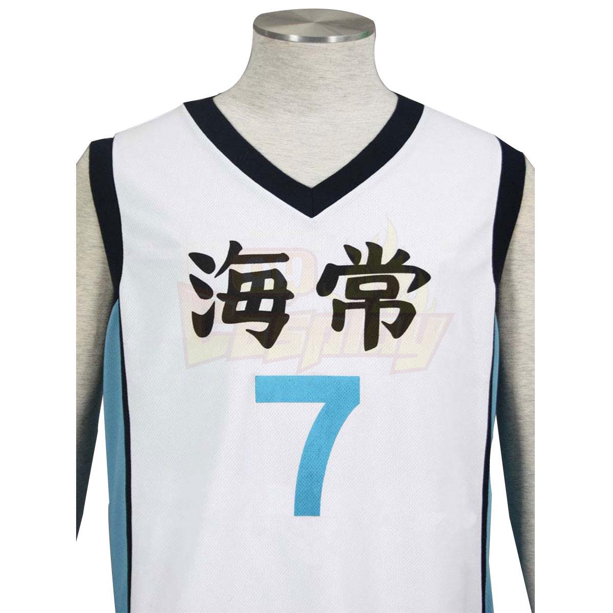 ديلوكس سلة كوروكو Kise Ryota3 Kaijou العليا الأبيض NO.7 كوزبلاي ازياء
