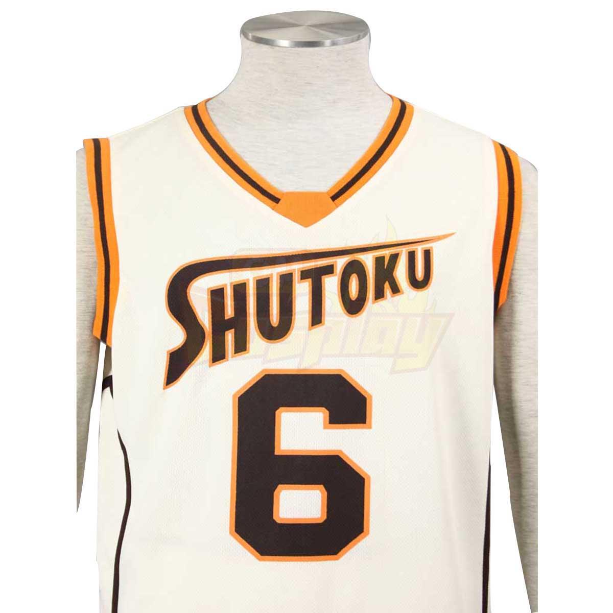דלוקס Kuroko לא קוספליי No.6 צהוב Shutoku אור סל Midorima Shintaro 1
