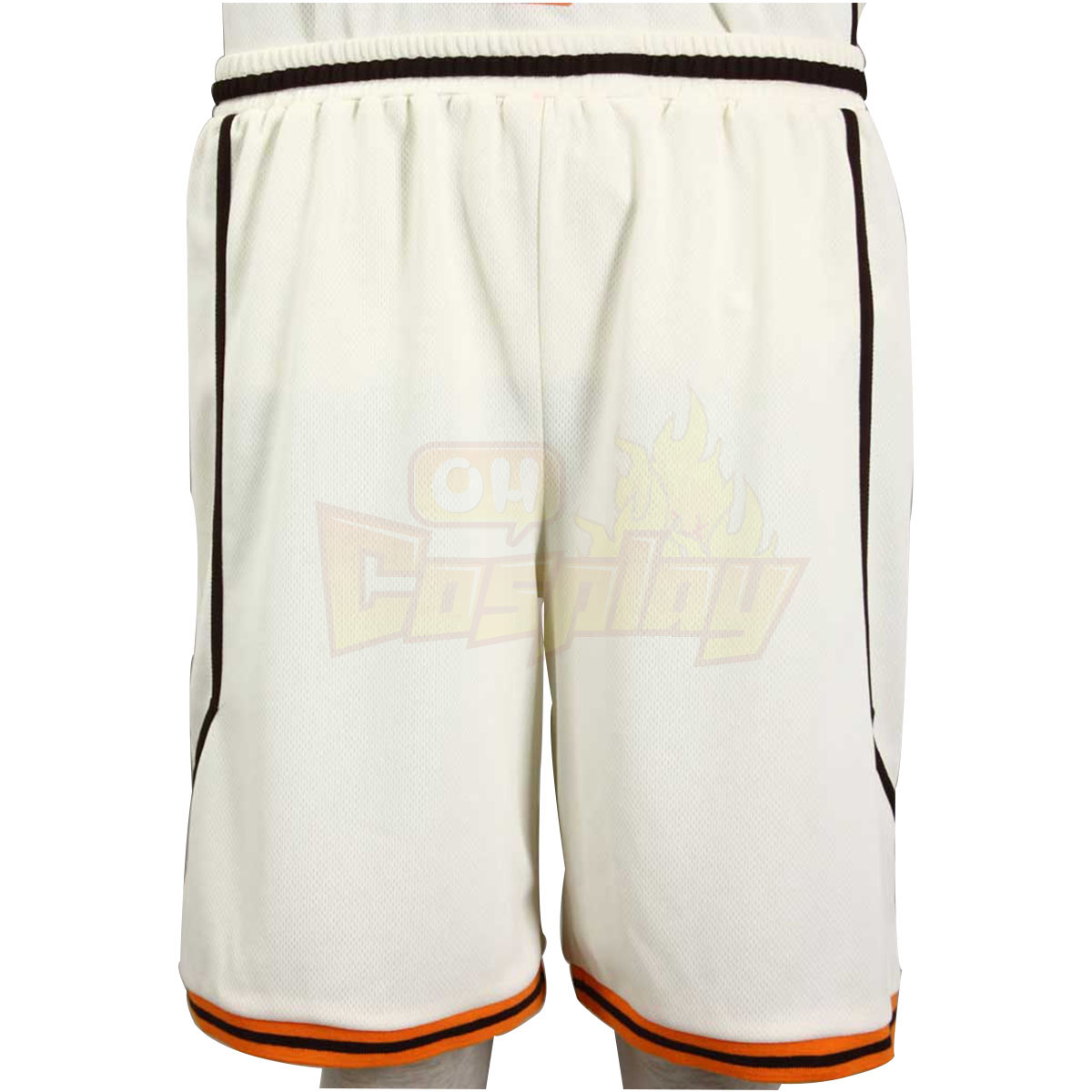 Fantasias Kuroko\'s Basketball Midorima Shintaro 1 Shutoku Light Amarelo No.6 Cosplay