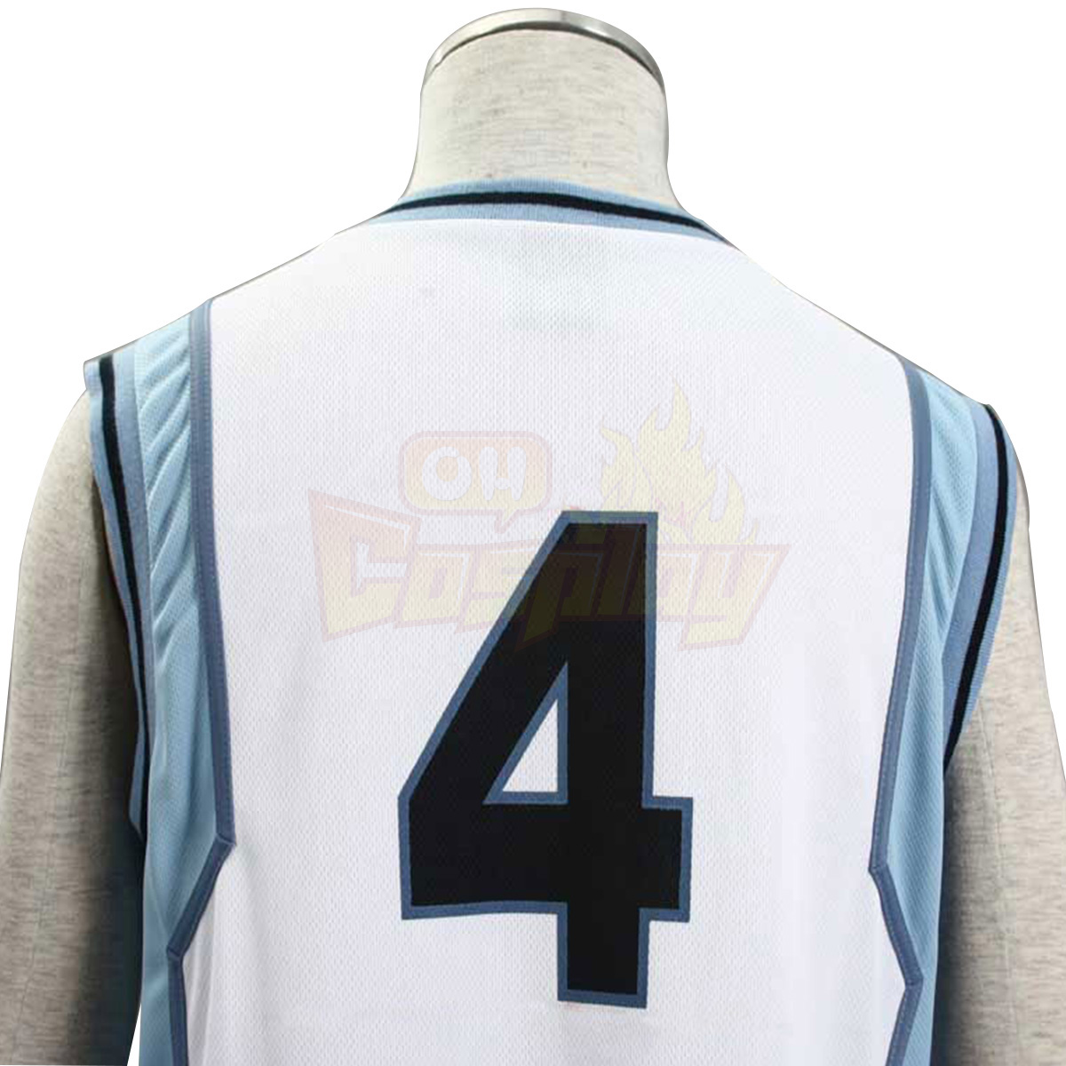 Луксозен Kuroko no Basket Akashi Seijuro1 Light White No.4 Cosplay Костюми