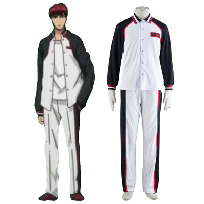 Fantasias Kuroko's Basketball Team of Seirin Mangas Compridas 1 Trajes Cosplay