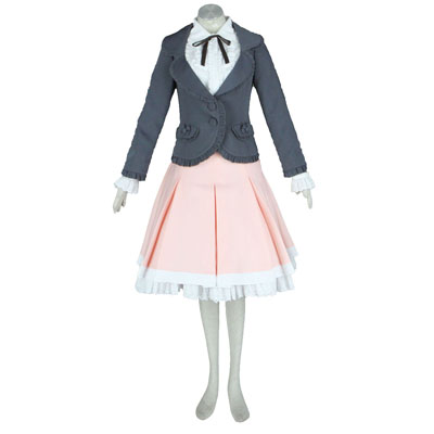 Deluxe Lolita Culture Coat Skirt Bustle Middle Dresses Cosplay Costumes