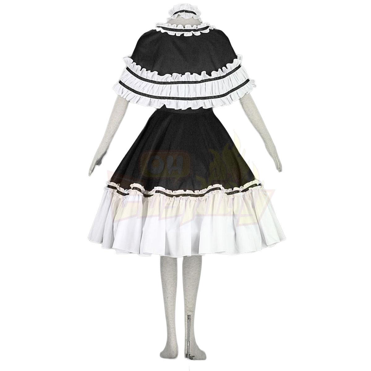 호화로운 로리타 문화 목도리 Spsghitti 터커 소동 긴 드레스 코스프레