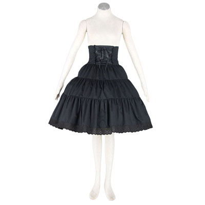 Deluxe Lolita Culture Girdle Panniers Half Dresses Cosplay Costumes