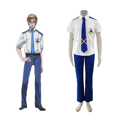 Macross F Mikhail Blanc 1ST Cosplay Costumes Deluxe Edition