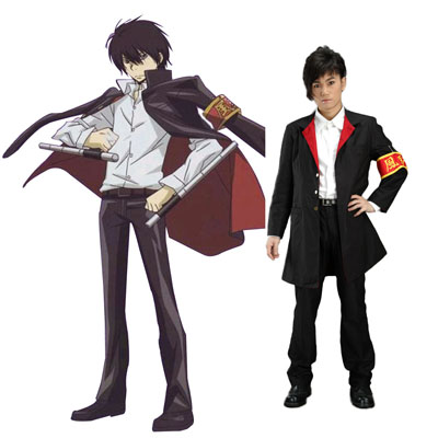 Hitman Reborn Kyoya Hibari 2ND Cosplay Costumes Deluxe Edition
