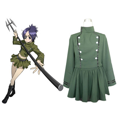 Hitman Reborn Chrome Dokuro Cosplay Costumes Deluxe Edition