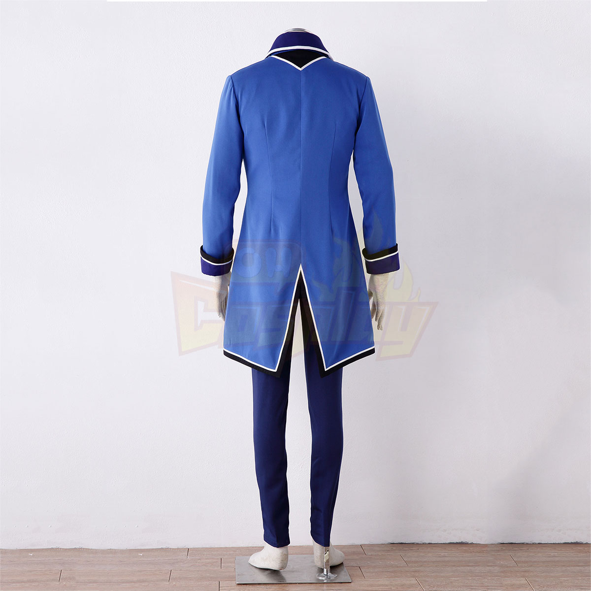 K Blue Organization Uniforms Cosplay Costumes Deluxe Edition