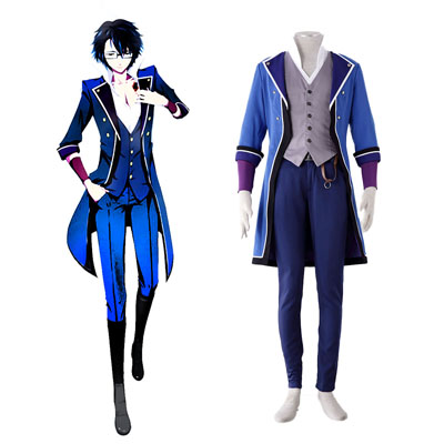 K Fushimi Saruhiko 1ST Cosplay Costumes Deluxe Edition