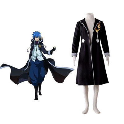 Fairy Tail Jellal Fernandes 1ST Cosplay Costumes Deluxe Edition