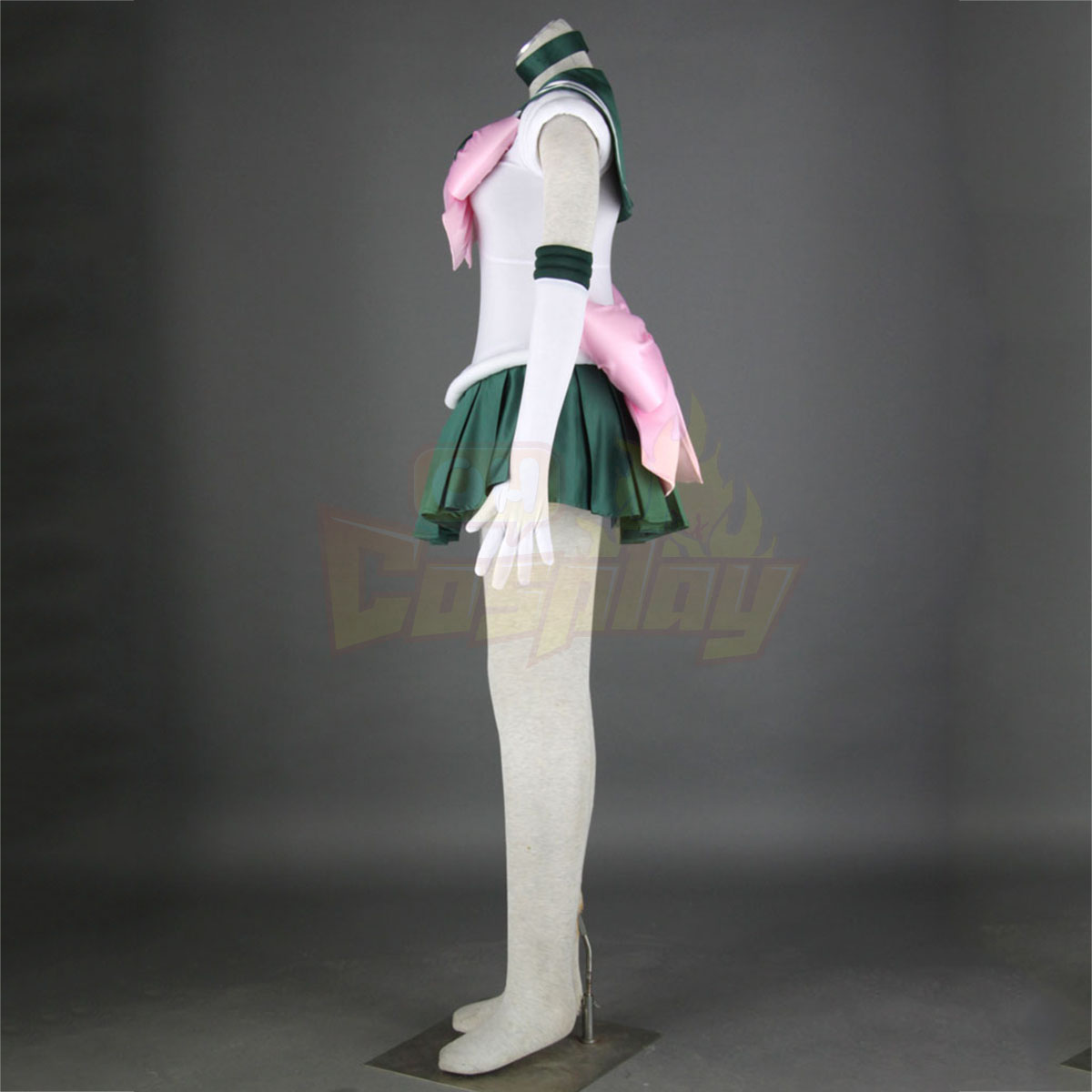Sailor Moon Kino Makoto 1ST Cosplay Costumes Deluxe Edition