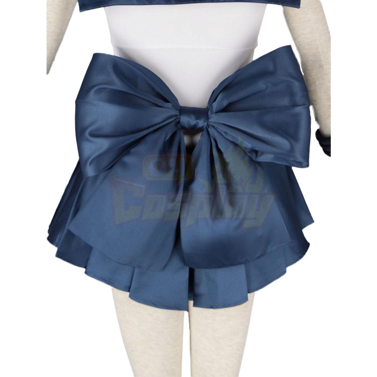 Sailor Moon Tenoh Haruka 1ST Cosplay Costumes Deluxe Edition