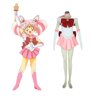 Sailor Moon Chibi Usa 1ST Cosplay Costumes Deluxe Edition